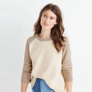 Madewell Province Open Cross Back Sweater
